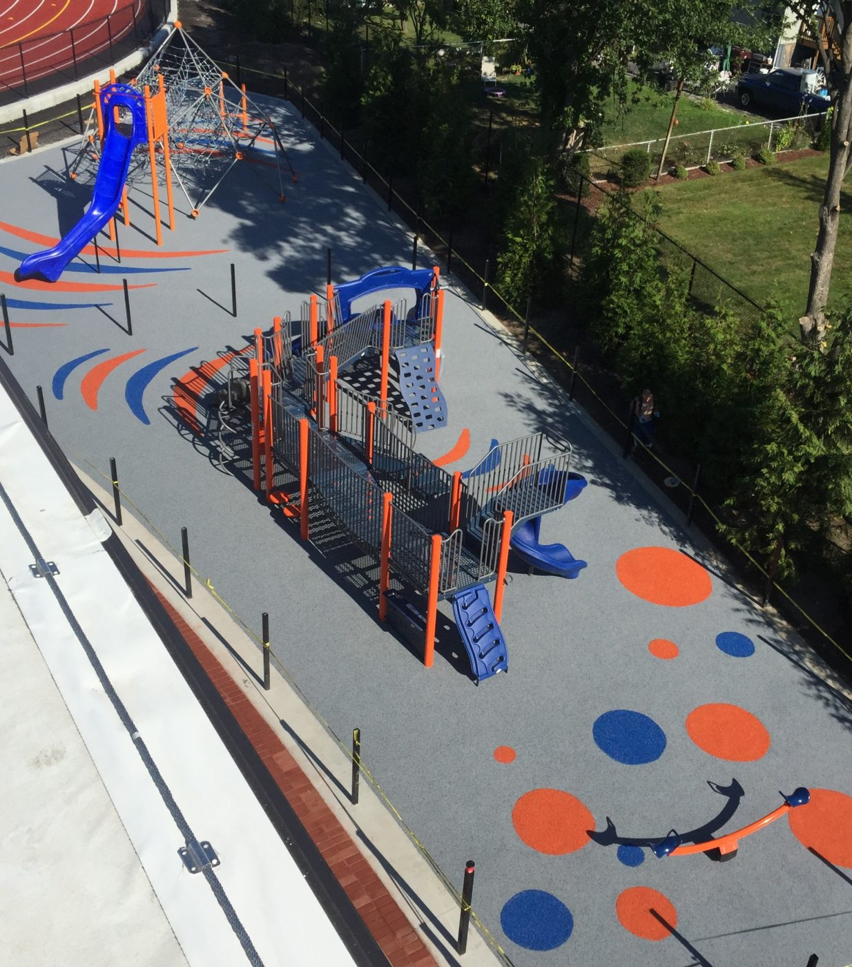 Commercial Playground Rubber Surface Flooring Contractor