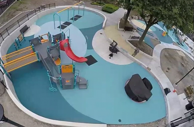 Playground Surfacing Contractor Boston
